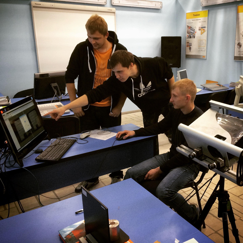 Семинары по 3D-сканированию